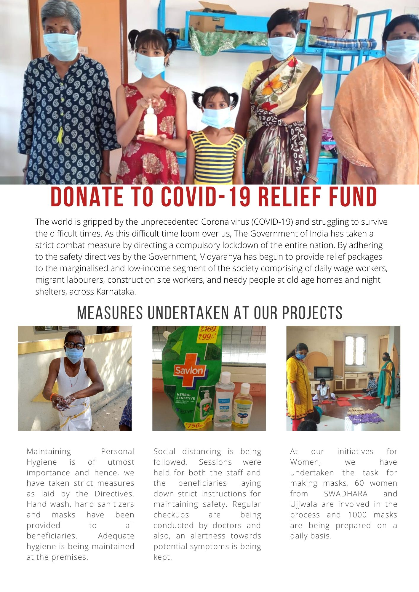 to covid 19 relief fund