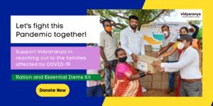 Support Vidyaranya's COVID-19 Relief service: